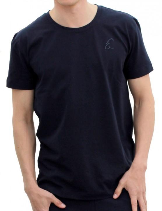 "ESPARTO T-Shirt Herren ""Bhaalu"" M / Nachtblau"