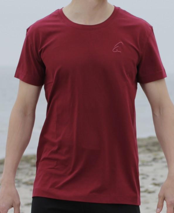 """ESPARTO T-Shirt Herren """"Bhaalu"""" M / Granatrot"""