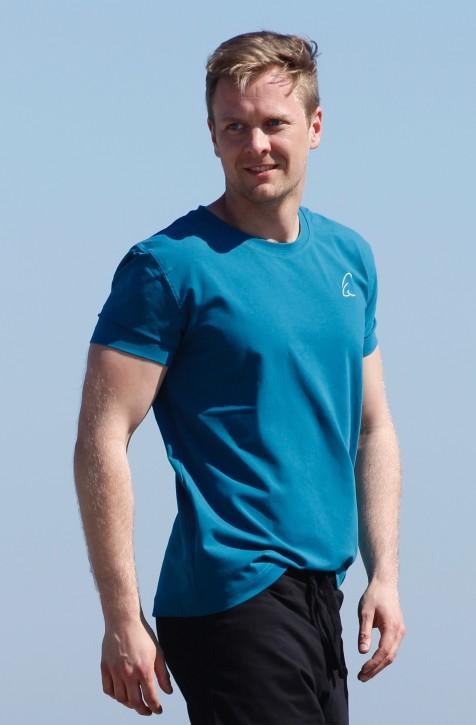 """ESPARTO T-Shirt Herren """"Bhaalu"""" M / Petrol"""