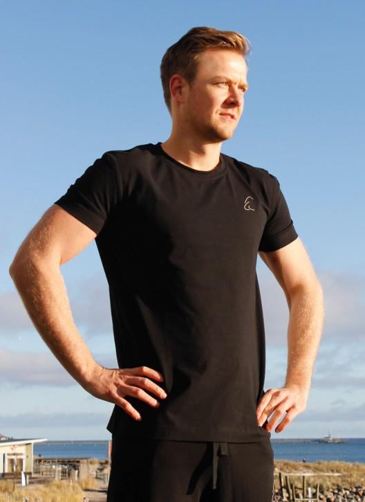 "ESPARTO T-Shirt Herren ""Bhaalu"" Schwarz / S"