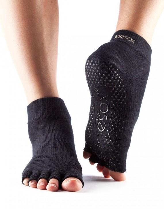 Half-Toesox ANKLE Black / XL
