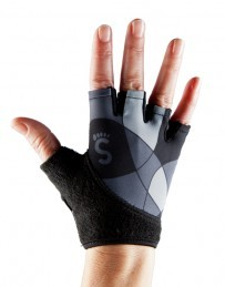 Grip Gloves Deco Grey L