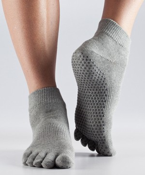 Full-Toesox ANKLE L / Heather Grey