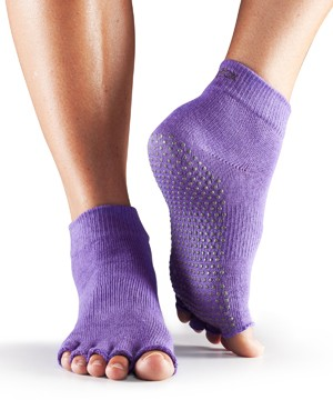 Half-Toesox ANKLE S / Light Purple