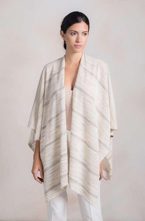 KUNA Alpaca poncho RAMAGE for Ladies