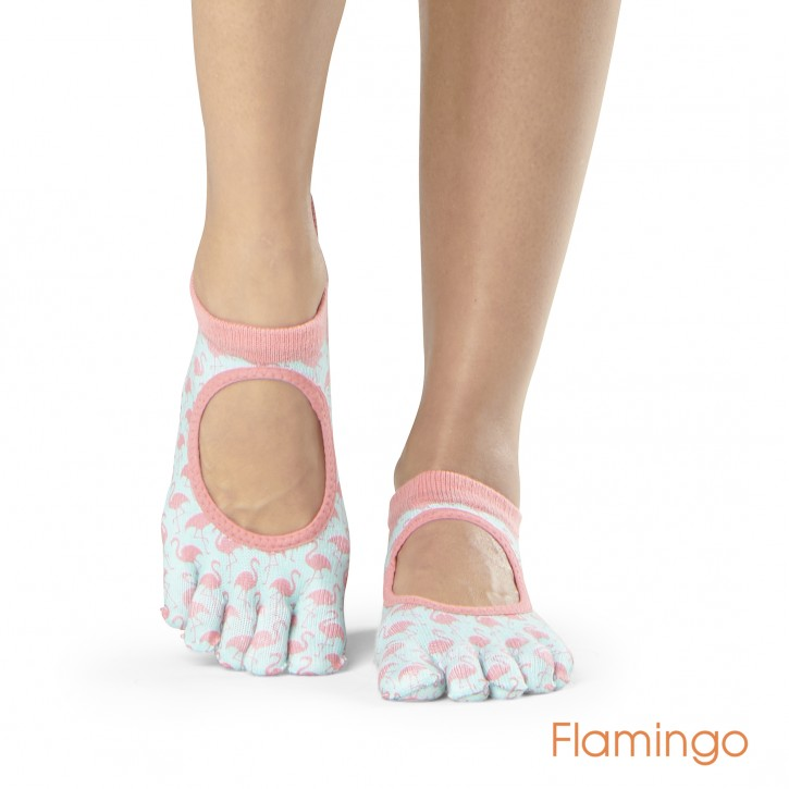 Full-Toesox BELLARINA M / Flamingo