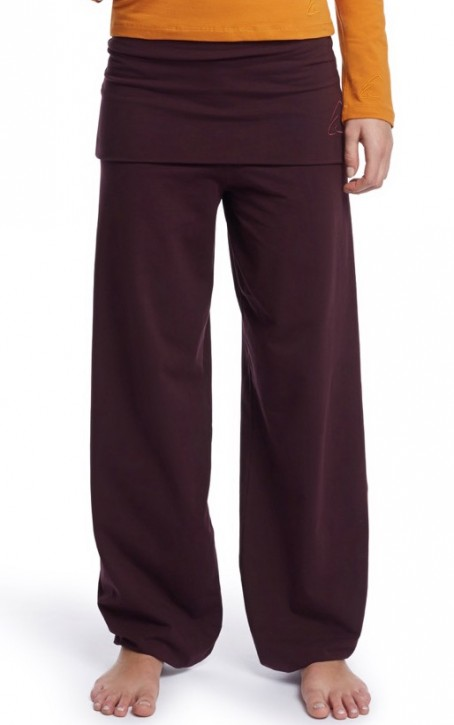 "ESPARTO Yoga Pants ""Sooraj"" XL / Aubergine"