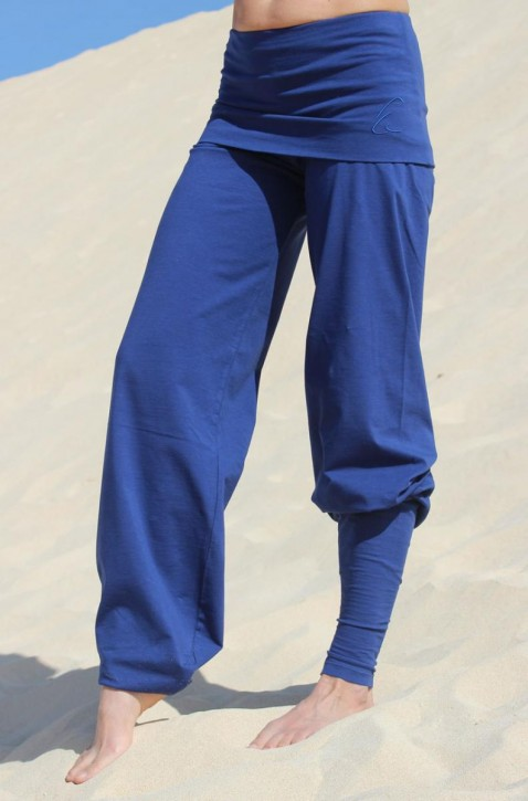 "ESPARTO Yoga Pants ""Sooraj"" Royal Blue / XXL"