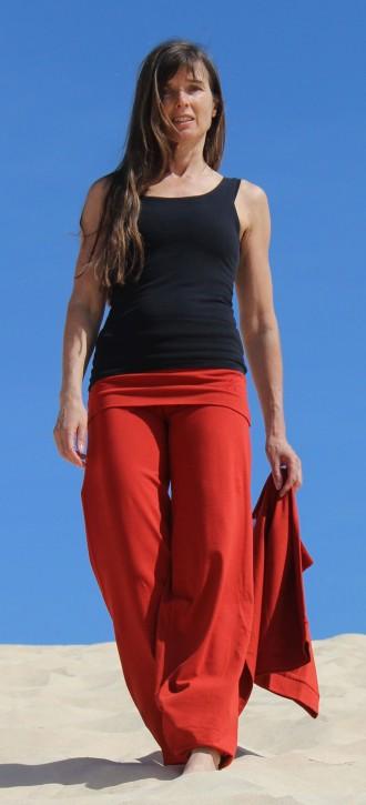 "ESPARTO Yoga- und Pilateshose ""Sooraj"" - Das Original Terracotta / Sunset-Rot / XXL"