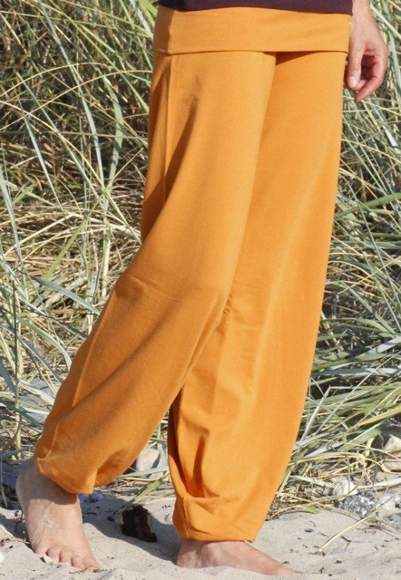 "ESPARTO Yoga Pants ""Sooraj"" L / Curry Yellow"