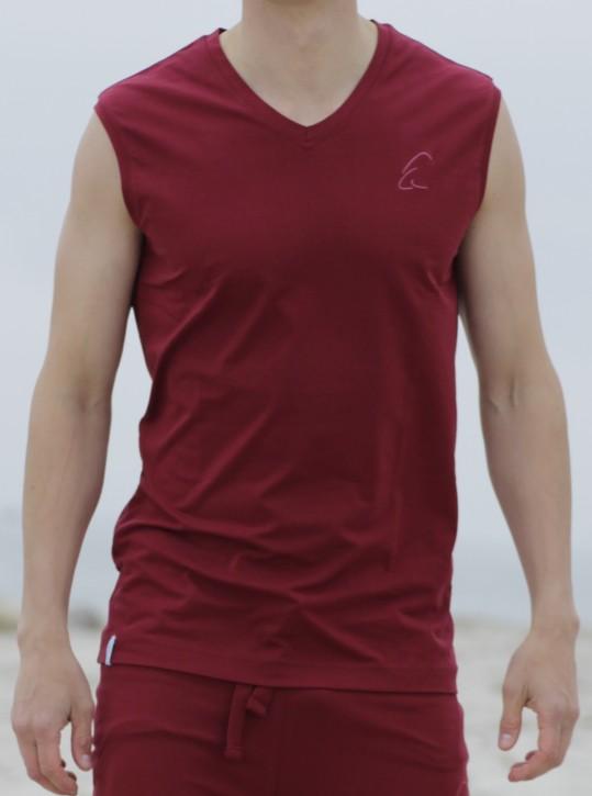 "ESPARTO Shirt Men ""Takat"" L / Garnet Red"