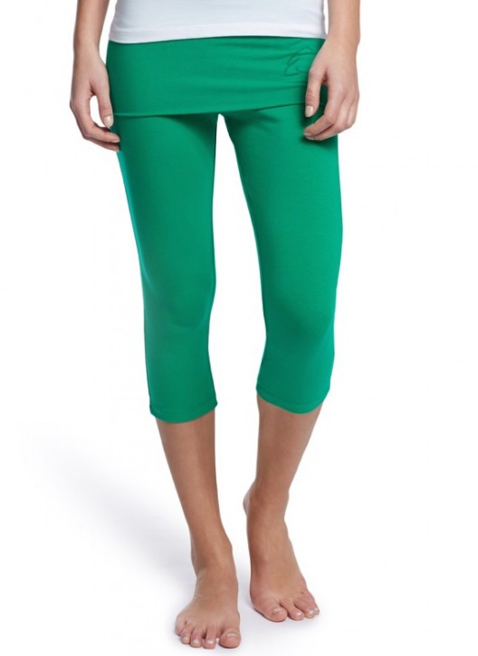 "Esparto ¾ Yoga Pants ""Thanda"" XS / Emerald Green"