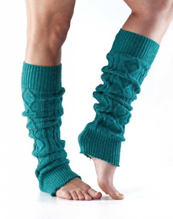 Toesox Leg Warmer Knee High universal / Forest (Green)