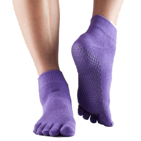 Full-Toesox ANKLE M / Light Purple