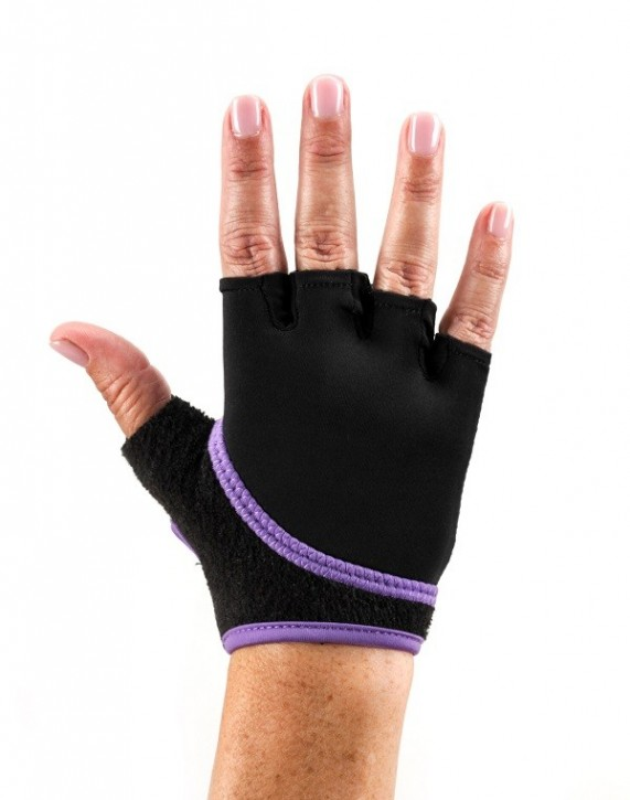TOESOX Grip Gloves Sporthandschuhe L / Light Purple