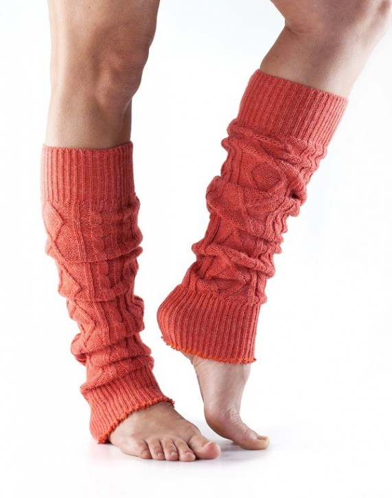 Toesox Leg Warmer Knee High universal / Coral