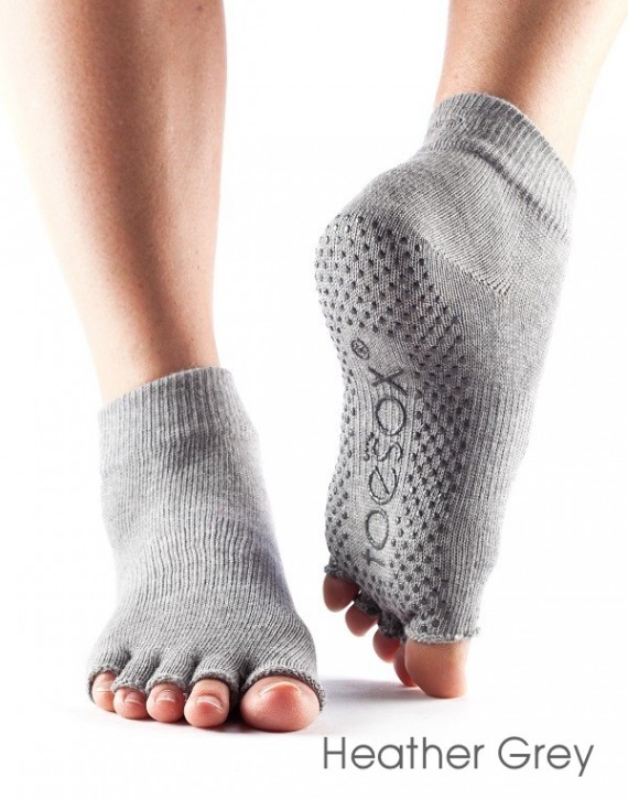 Half-Toesox ANKLE S / Heather Grey