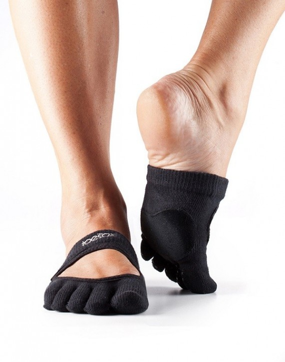 Full-Toesox-RELEVÉ Black / S