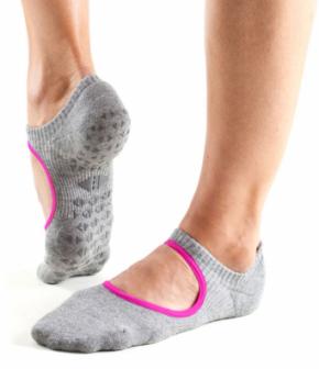 "Tavy Noir ""Chey"" Grip Socks"