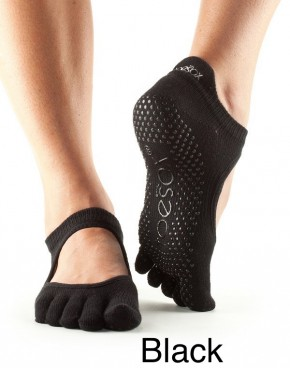 Full-Toesox BELLARINA Black / M
