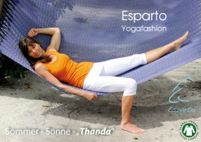 "ESPARTO ¾ Yoga Pants ""Thanda"""